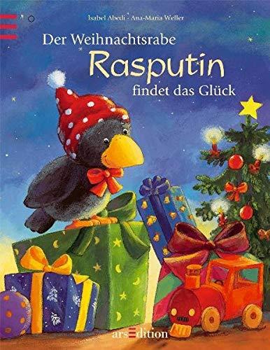 9783760714875: Der Weihnachtsrabe Rasputin findet das Glück + Rasputin Plüschfigur