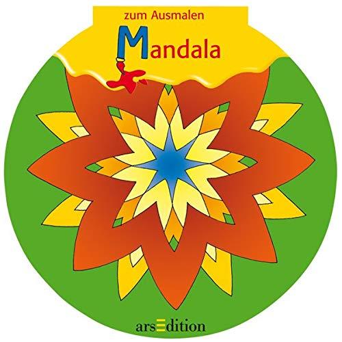 9783760716763: Formgestanzte Malblöcke. Zum Ausmalen Mandala