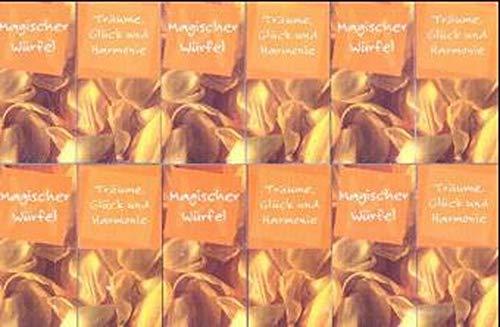 9783760718453: Magischer Würfel, aufklappbarer Kunststoff-Würfel, Träume, Glück und Harmonie, aufklappbarer Kunststoff-Würfel