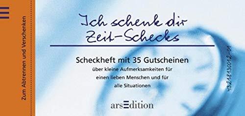 9783760720517: Ich schenk dir Zeit- Schecks.