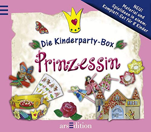9783760724232: Die Kinderparty-Box: Prinzessin