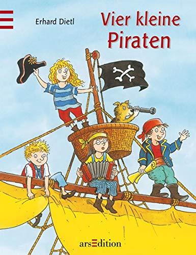 9783760724508: Vier kleine Piraten (Medi) ; Ill. v. Dietel, Erhard; Deutsch; -