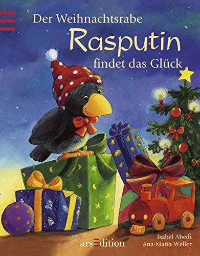 9783760727875: Der Weihnachtsrabe Rasputin findet das Glück. Mini-Ausgabe