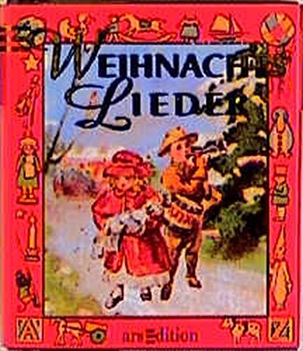 Weihnachtslieder : Miniaturbuch
