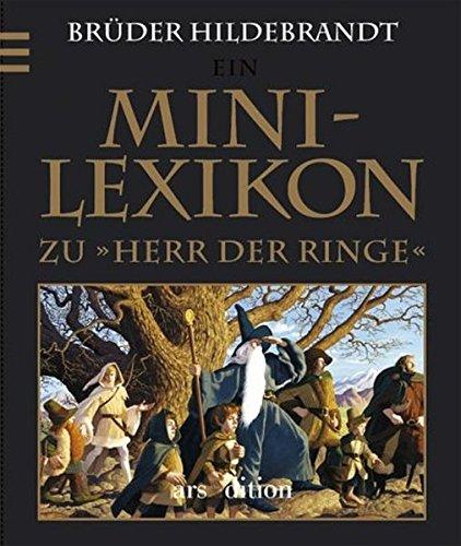 9783760731155: Mini-Lexikon zu 'Herr der Ringe'