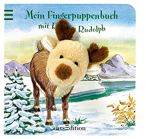 9783760734477: Mein Fingerpuppenbuch Rentier Rudolf