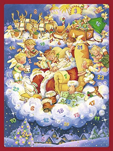 9783760735719: Morgen Kinder, wird's was geben: Adventskalender