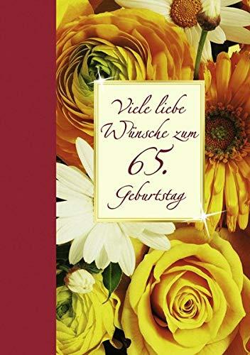 9783760735887: Viele liebe Wünsche zum 65. Geburtstag