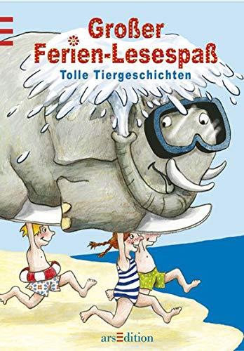 9783760740096: Großer Ferien-Lesespaß. Tolle Tiergeschichten