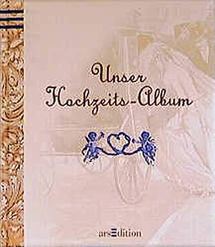Unser Hochzeits-Album, wattiert, m. Satinband z. Verschließen