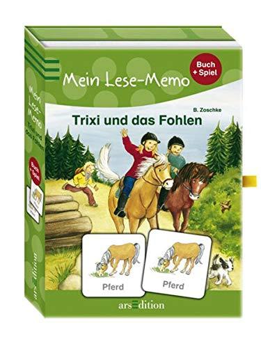 9783760744674: Trixi und das Fohlen: Mein Lese-Memo