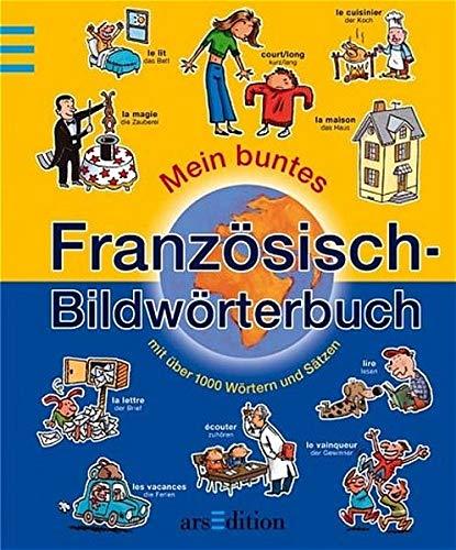 9783760748238: Mein buntes Französisch-Bildwörterbuch