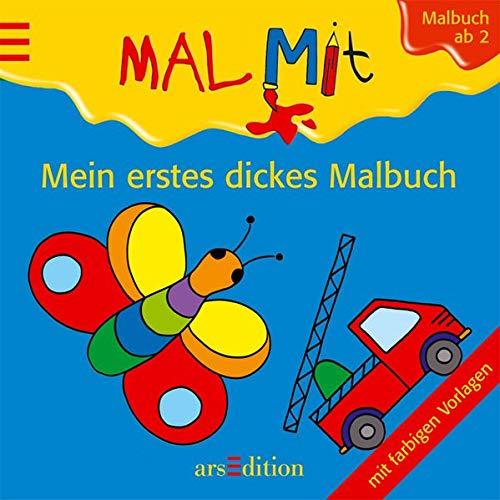 9783760748627: Mein erstes dickes Malbuch