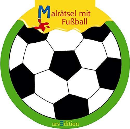 9783760748825: Malrätsel mit Fußball