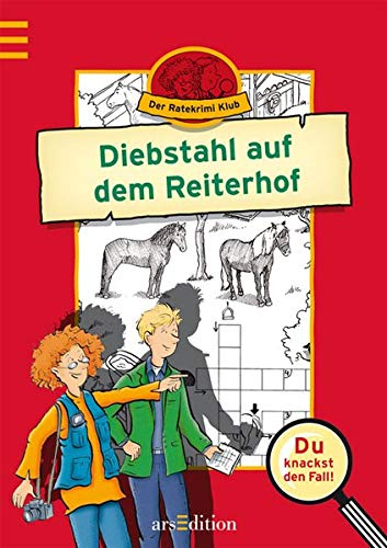9783760749372: Der Ratekrimi Klub. Diebstahl auf dem Reiterhof