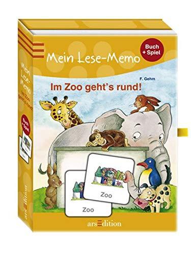 9783760751689: Im Zoo gehts rund: Mein Lese-Memo