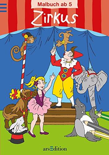9783760752693: Zirkus: Malbuch