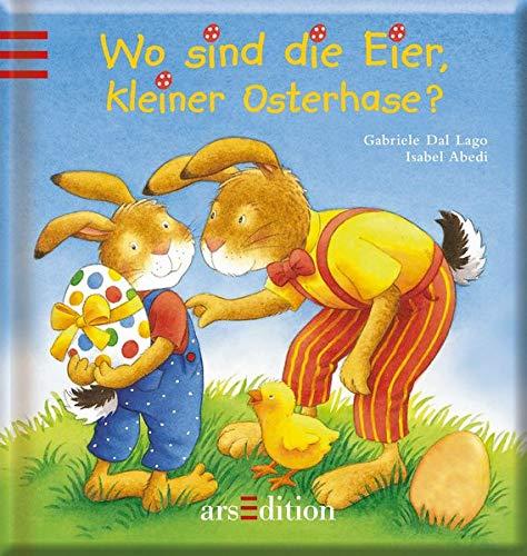 9783760752983: Wo sind die Eier, kleiner Osterhase?