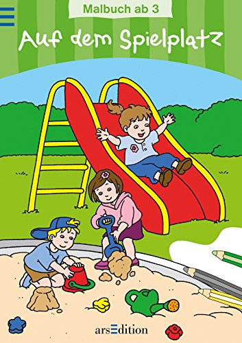 9783760753218: Auf dem Spielplatz: Malbuch
