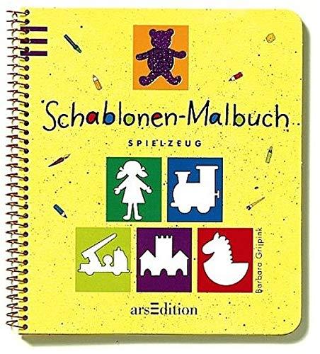 9783760755335: Schablonen-Malbuch, Spielzeug