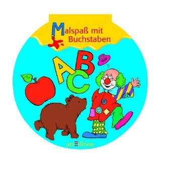 9783760759784: Malspaá mit Buchstaben