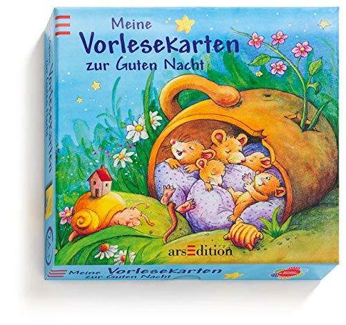 Meine Vorlesekarten zur Guten Nacht (Vorlesekarten-Pappe) - Grimm, Sandra