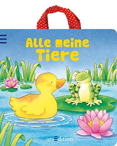 9783760764986: Alle meine Tiere: Buch mit Henkel