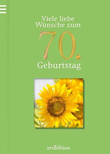 9783760768366: Viele liebe Wünsche zum 70. Geburtstag