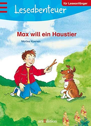 9783760769073: Leseabenteuer: Max will ein Haustier