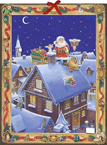 9783760769110: Heut Nacht kommt der Weihnachtsmann. Adventskalender