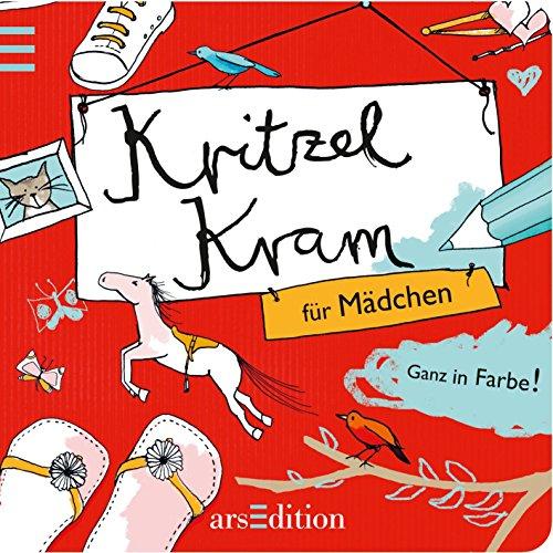 9783760769196: Kritzelkram für Mädchen