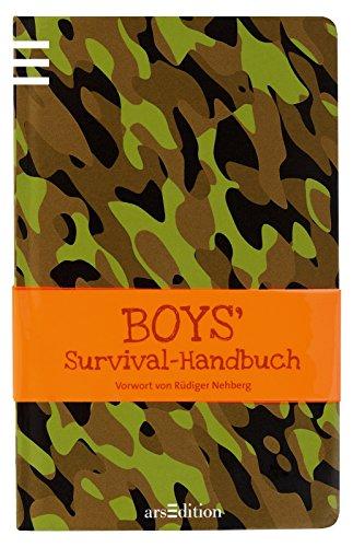 9783760769769: Boys' Survival-Handbuch