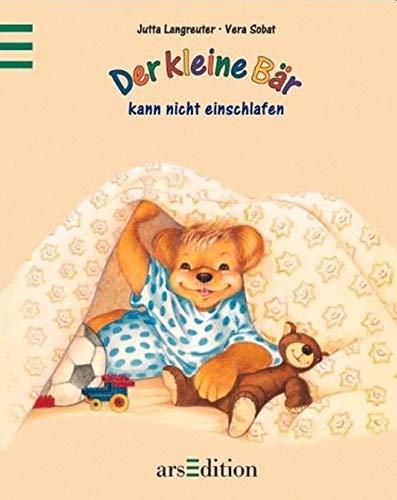 9783760771984: Der kleine Bär kann nicht einschlafen. ( Ab 3 J.).