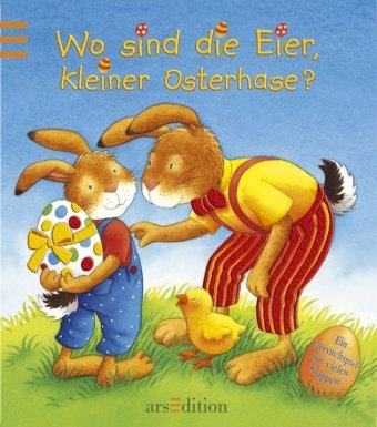 9783760778754: Wo sind die Eier, kleiner Osterhase? Miniausgabe Ill. v. Dal Lago, Gabriele Deutsch mit Glitzerfolie -
