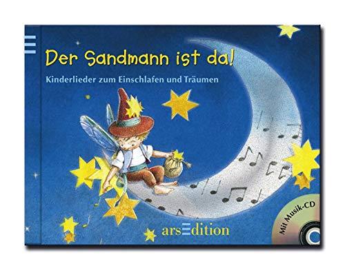 9783760778860: Der Sandmann ist da!/mit CD: Kinderlieder zum Einschlafen und Träumen