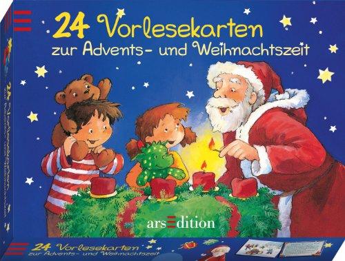 9783760779386: 24 Vorlesekarten zur Advents- und Weihnachtszeit