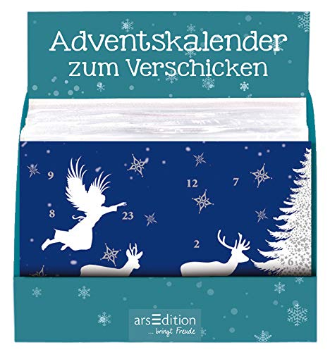 9783760779553: Ars Edition Display. Mini Windlicht Adventskalender 36 Exemplare gemischt