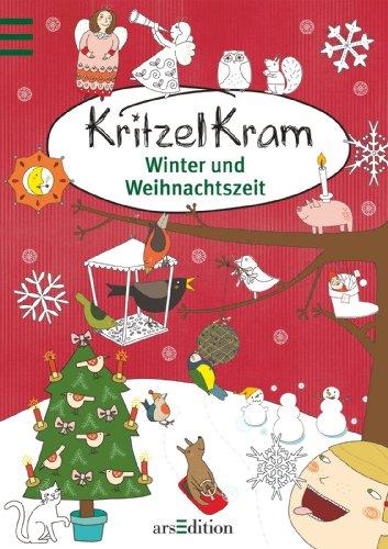 9783760787596: Kritzelkram Winter und Weihnachtszeit