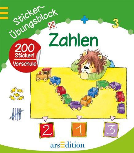 Sticker-Übungsblock Zahlen - Peikert, Marlit