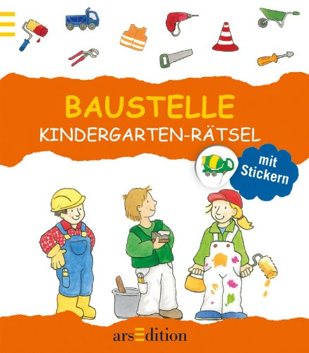 Kindergarten-Rätsel Baustelle