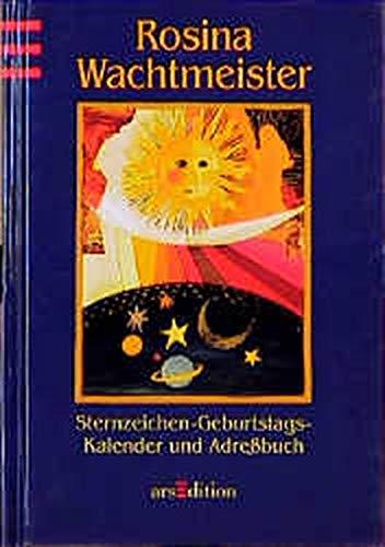 9783760790824: Sternzeichen - Geburtstags- Kalender und Adressbuch