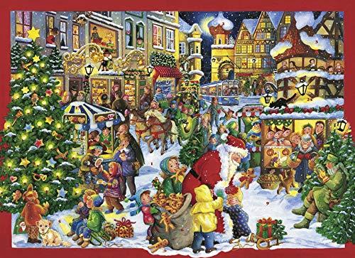 9783760798042: Auf dem Weihnachtsmarkt