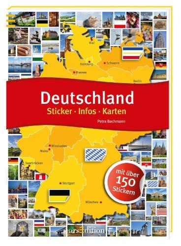 9783760798523: Deutschland: Sticker - Infos - Karten