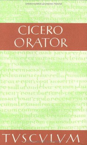 9783760815251: Orator. Lateinisch und deutsch.