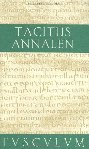 Annalen (Sammlung Tusculum): Publius Cornelius Tacitus