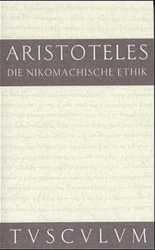 9783760817255: Die Nikomachische Ethik. Griechisch - Deutsch