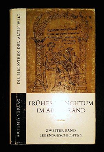 9783760836423: Frühes Mönchtum im Abendland II. Lebensgeschichten