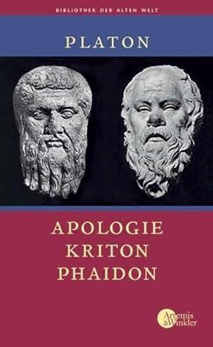 9783760841090: Apologie - Kriton - Phaidon