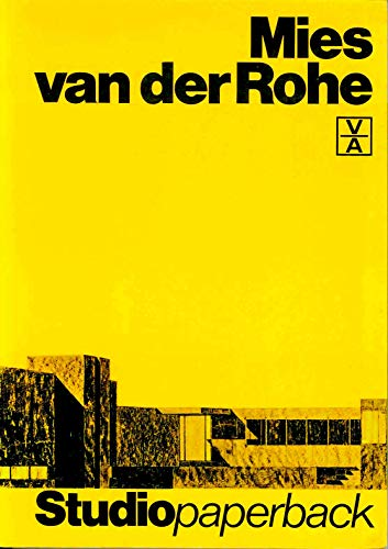 9783760881027: Ludwig Mies Van Der Rohe