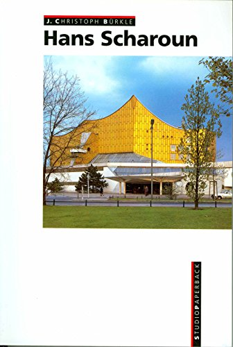 9783760881393: Hans Scharoun (Studio Paperback)